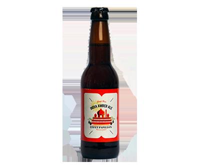 India Amber Ale - L'Effet Papillon - Une Petite Mousse