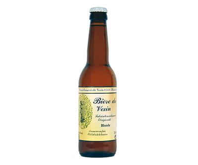 bière du Vexin Blonde - Ferme Brasserie du Vexin - Une Petite Mousse