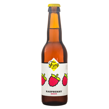Raspberry Saison - Frogbeer - Une Petite Mousse