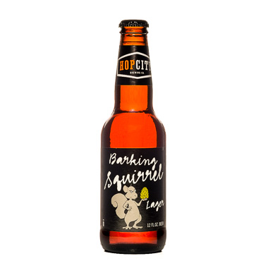 Barking Squirrel Lager - Hop City Brewing Company - Une Petite Mousse