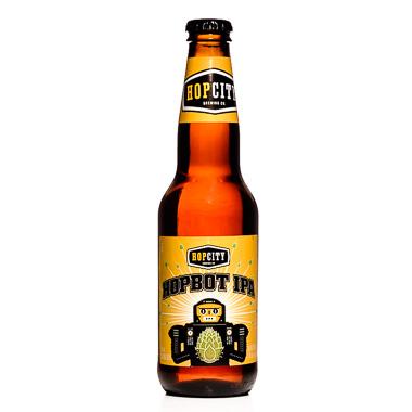 Hopbot IPA - Hop City Brewing Company - Une Petite Mousse