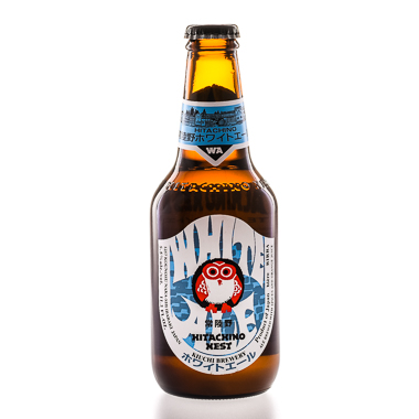 Hitachino Nest White Ale - Kiuchi Brewery - Une Petite Mousse