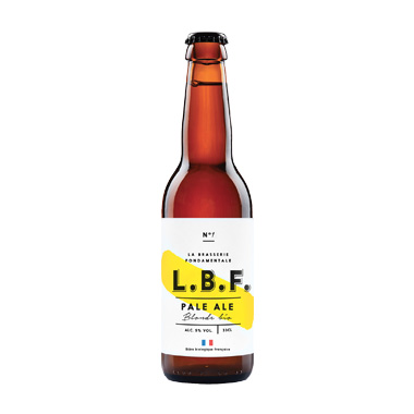 L.B.F. blonde - La Brasserie Fondamentale - Une Petite Mousse