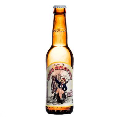 Bière des Sans Culottes Blonde Légère - La Choulette - Une Petite Mousse