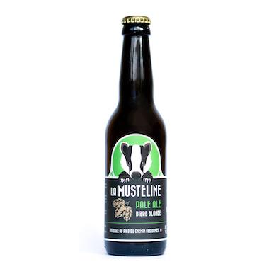 Musteline Pale Ale  - La Musteline - Une Petite Mousse
