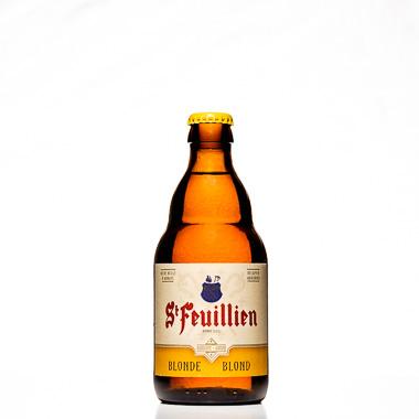 St Feuillien Blonde - St Feuillien - Une Petite Mousse