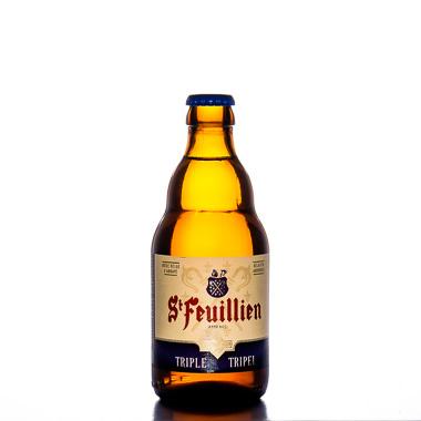 St Feuillien Triple - St Feuillien - Une Petite Mousse