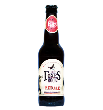 Foxes Rock Red Ale - Station Works brewery - Une Petite Mousse