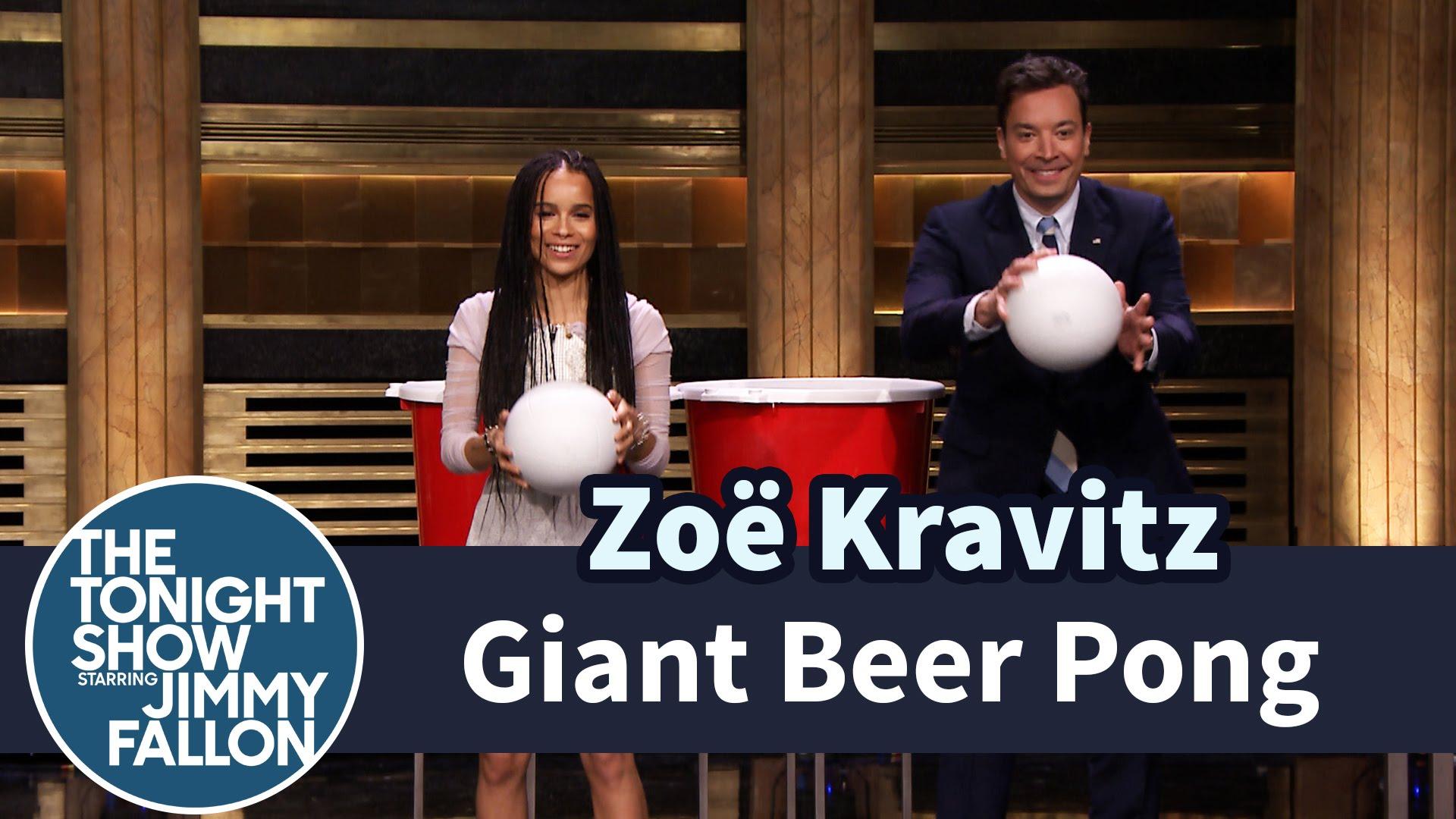 Faisons un «Beer Pong» avec la fille de Lenny Kravitz !