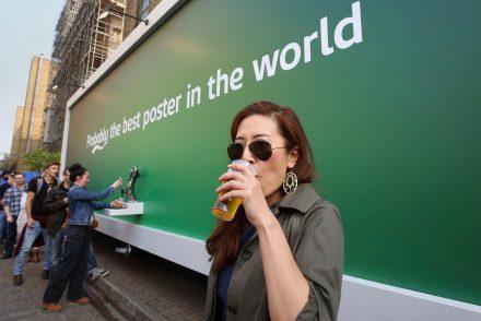 Carlsberg dévoile le meilleur poster du monde