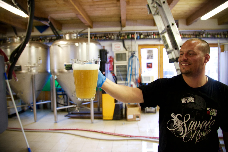 Vidéo du brassage de la bière des abonnés
