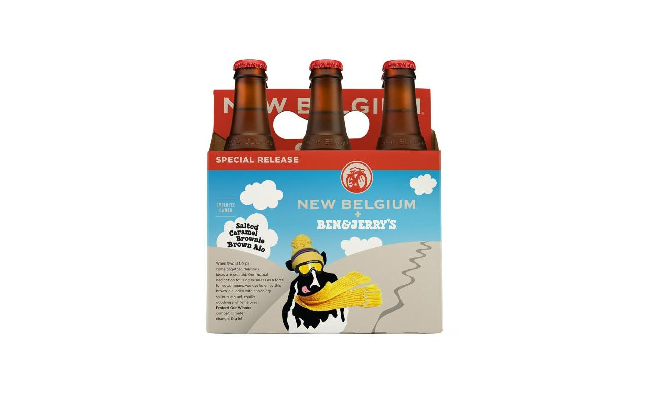 Ben & Jerry's produira sa bière avec New Belgium