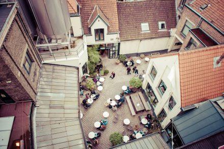 La brasserie De Halve Maan installer un pipeline de bière à Bruges