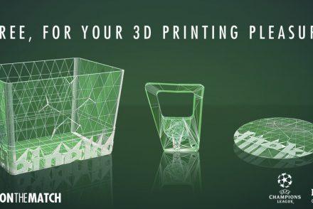 Heineken propose ses accessoires en impression 3D