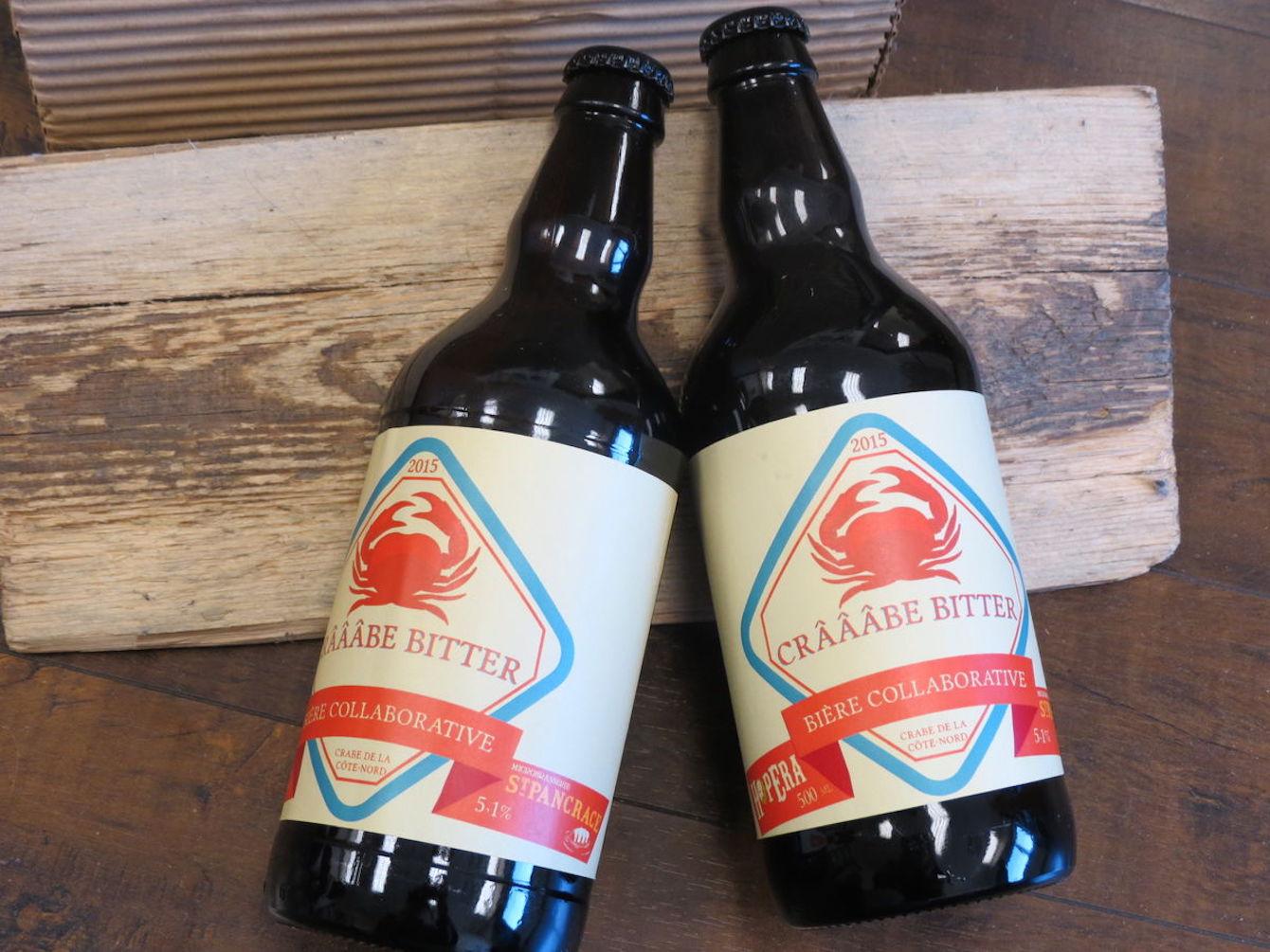 Bière au crabe venue du Québec : voici la «Crâââbe Bitter»