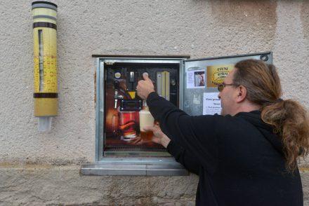 Une tireuse en self service pour la République Tchèque