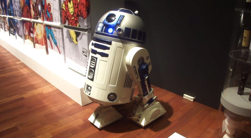 Un robot R2-D2 pour vous apporter vos bières