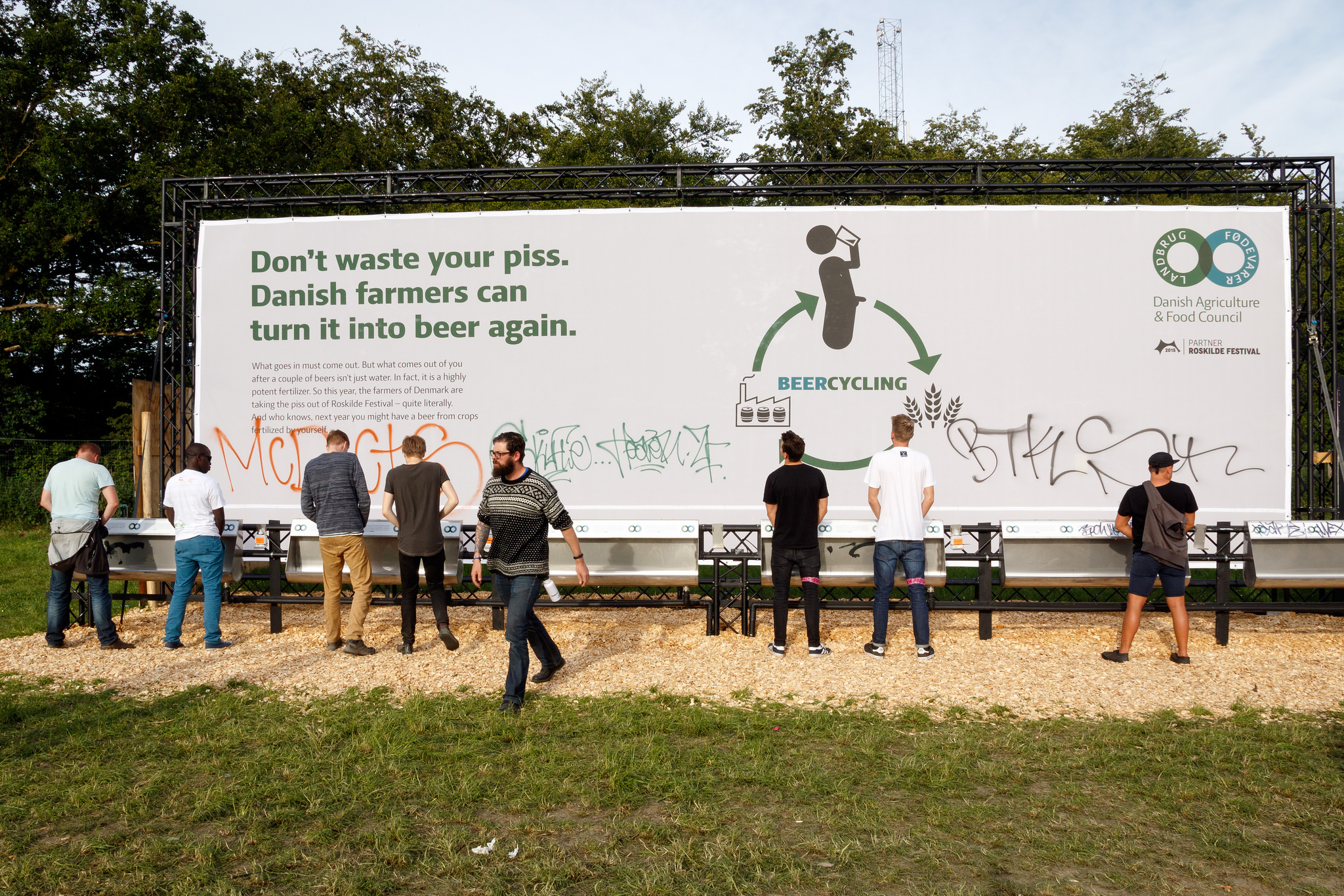 Le festival de Roskilde recycle de l'urine pour faire de la bière