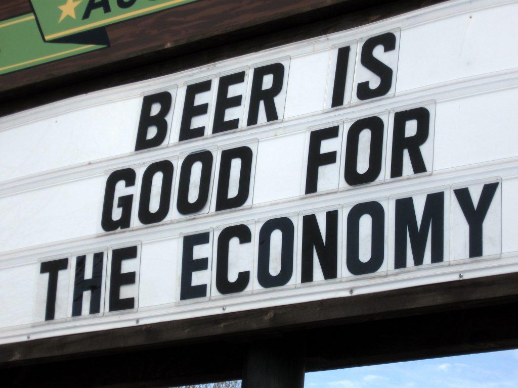 bière impact économique USA