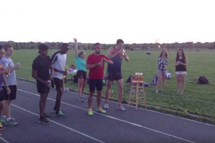 Le record du monde du «beer mile» vient d'être battu