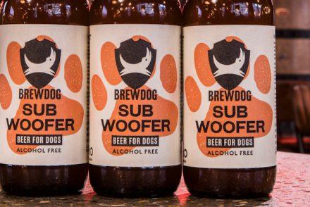 Et voici qu'apparait la bière pour chiens, sans alcool