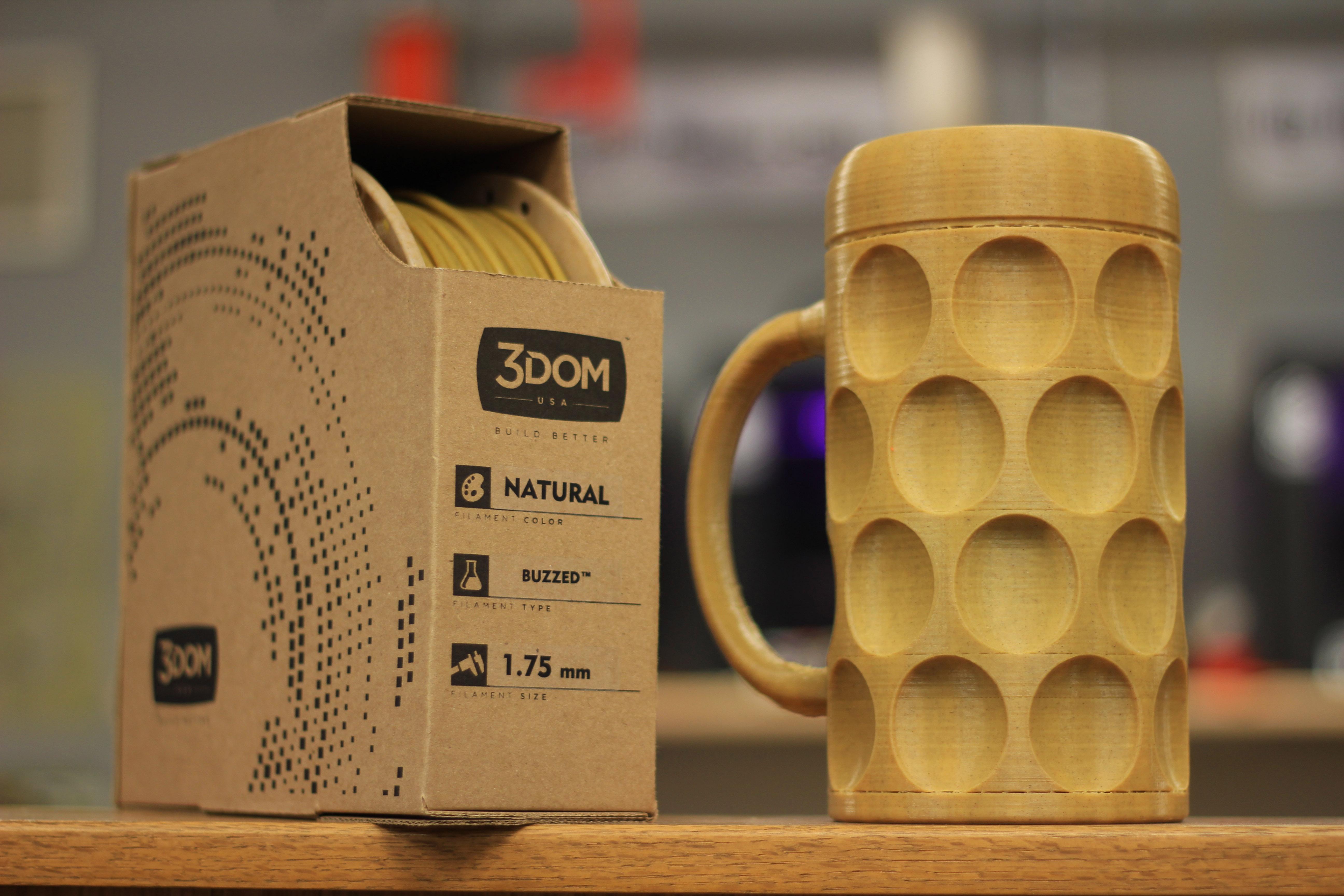 de la bi re pour les filaments des imprimantes 3d une petite mousse. Black Bedroom Furniture Sets. Home Design Ideas