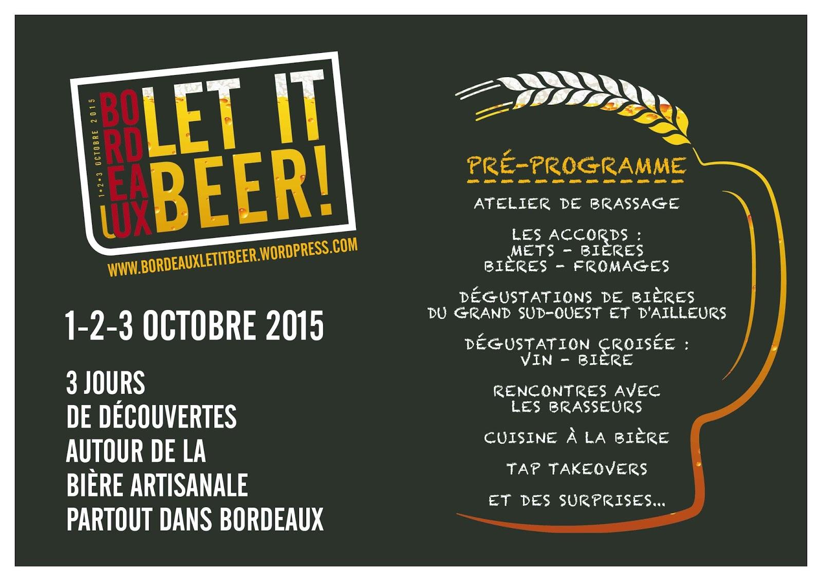 Let it beer : un festival dédié à la bière à Bordeaux