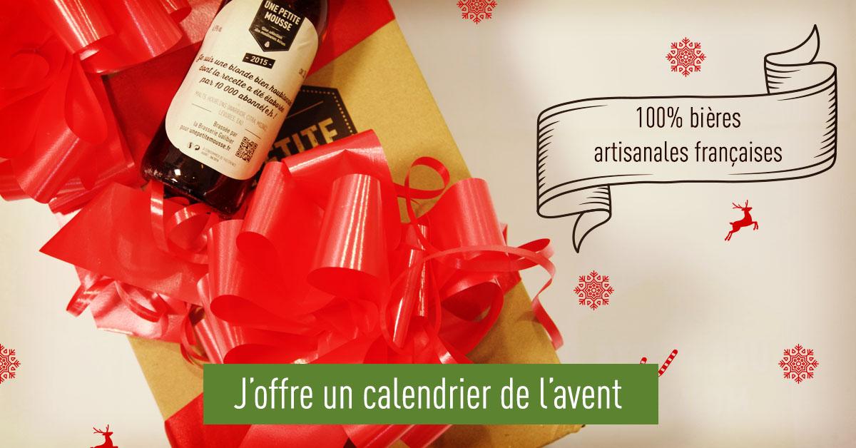 Un calendrier de l'avent de bières artisanales françaises !
