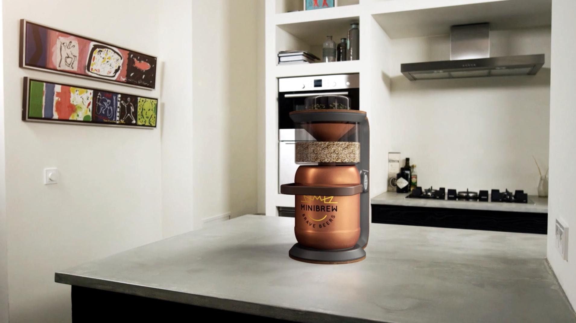 MiniBrew est votre mini brasserie, à la maison