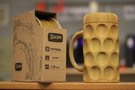 De la bière pour les filaments des imprimantes 3D