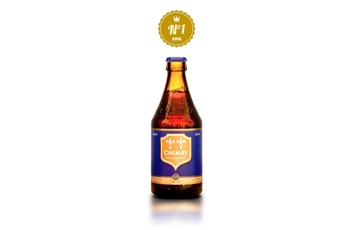 chimay bleue bière blege