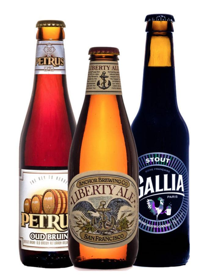 trio de bière