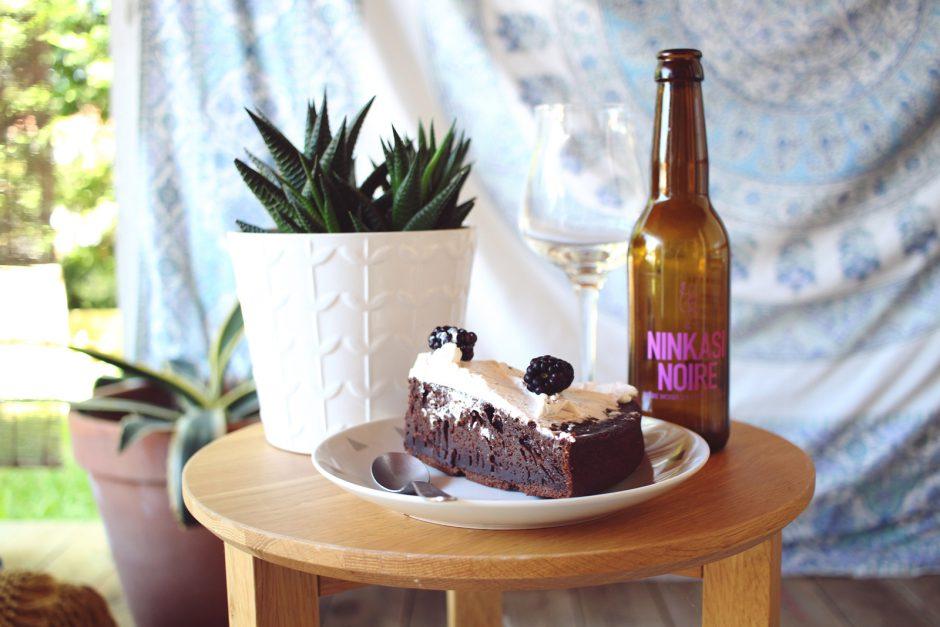 recette gateau chocolat biere