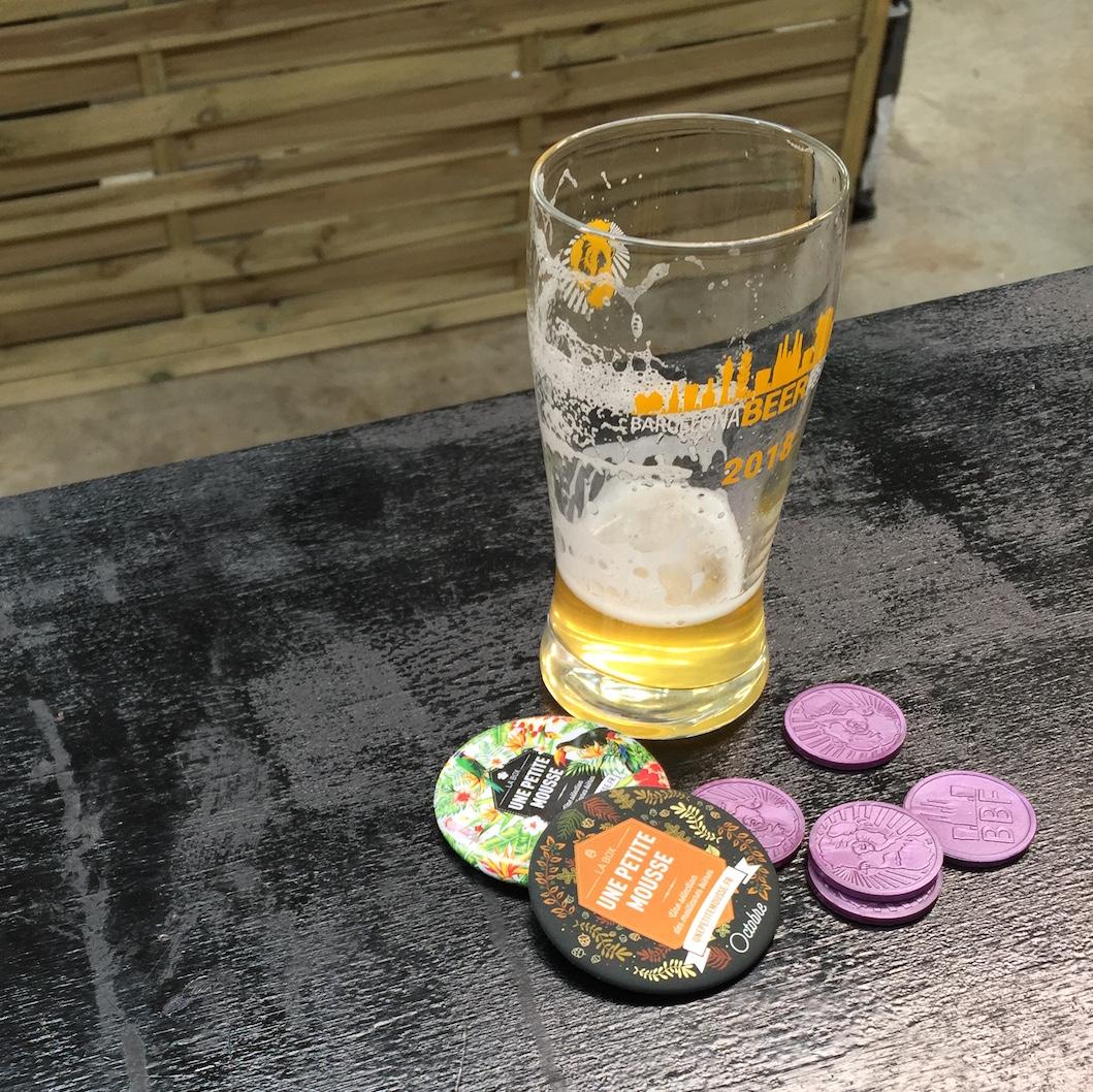 bière blonde médaille