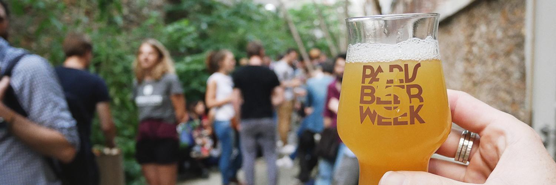 Paris Beer Week 2018, la bière artisanale en lettres capitales