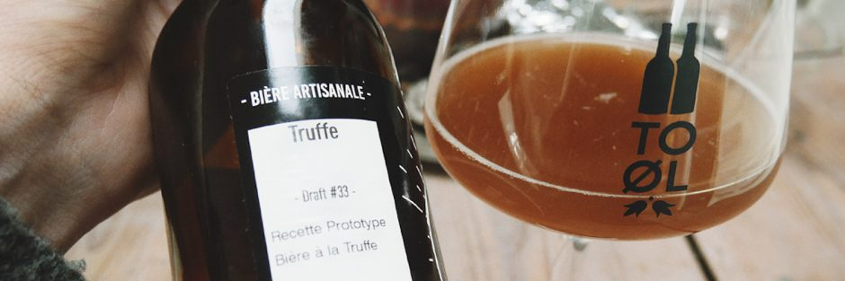 bière à la truffe