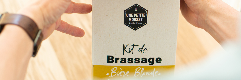 Kit de brassage : une bière blonde et peu alcoolisée à brasser soi-même