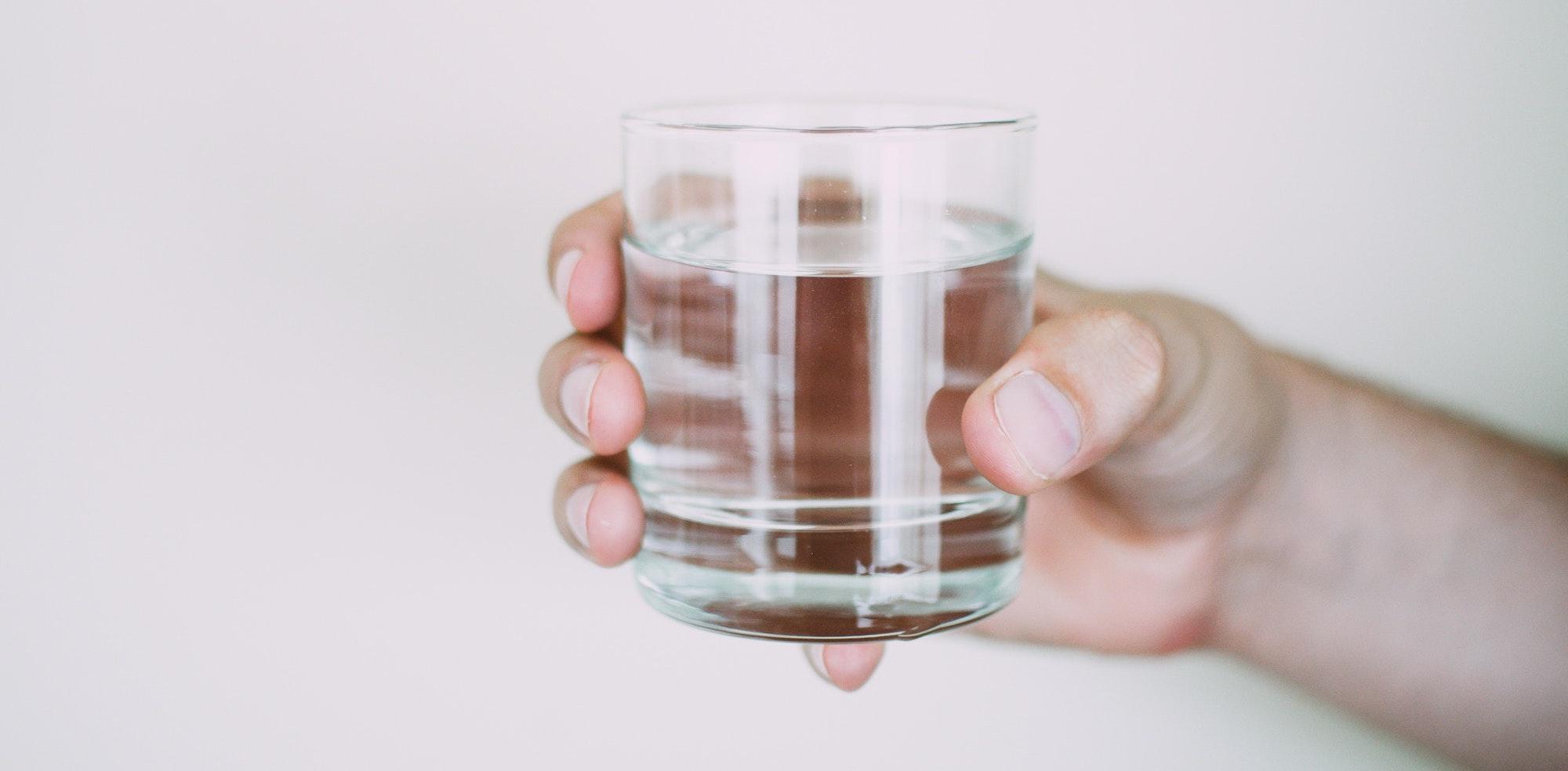 bière et eau
