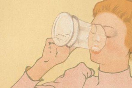 femmes et la bière affiche