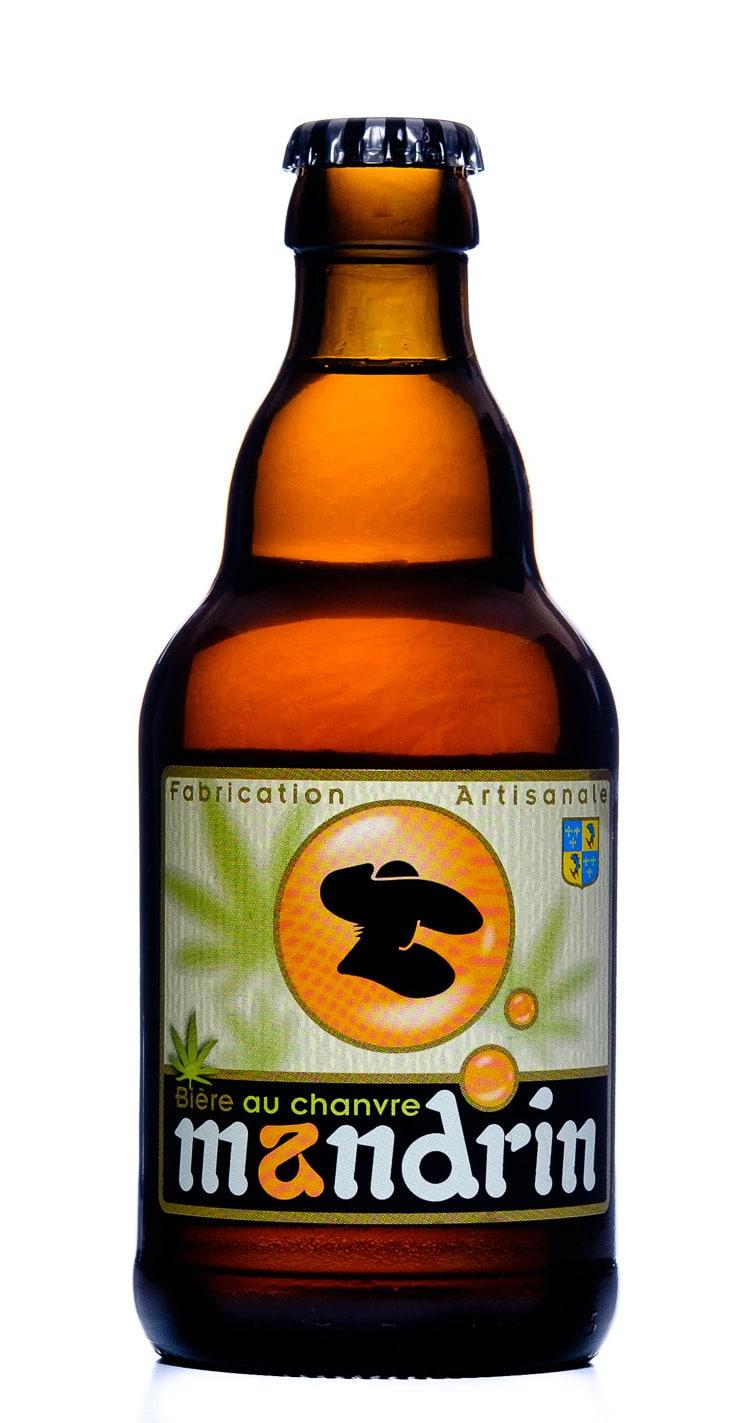 weed bière au chanvre mandrin