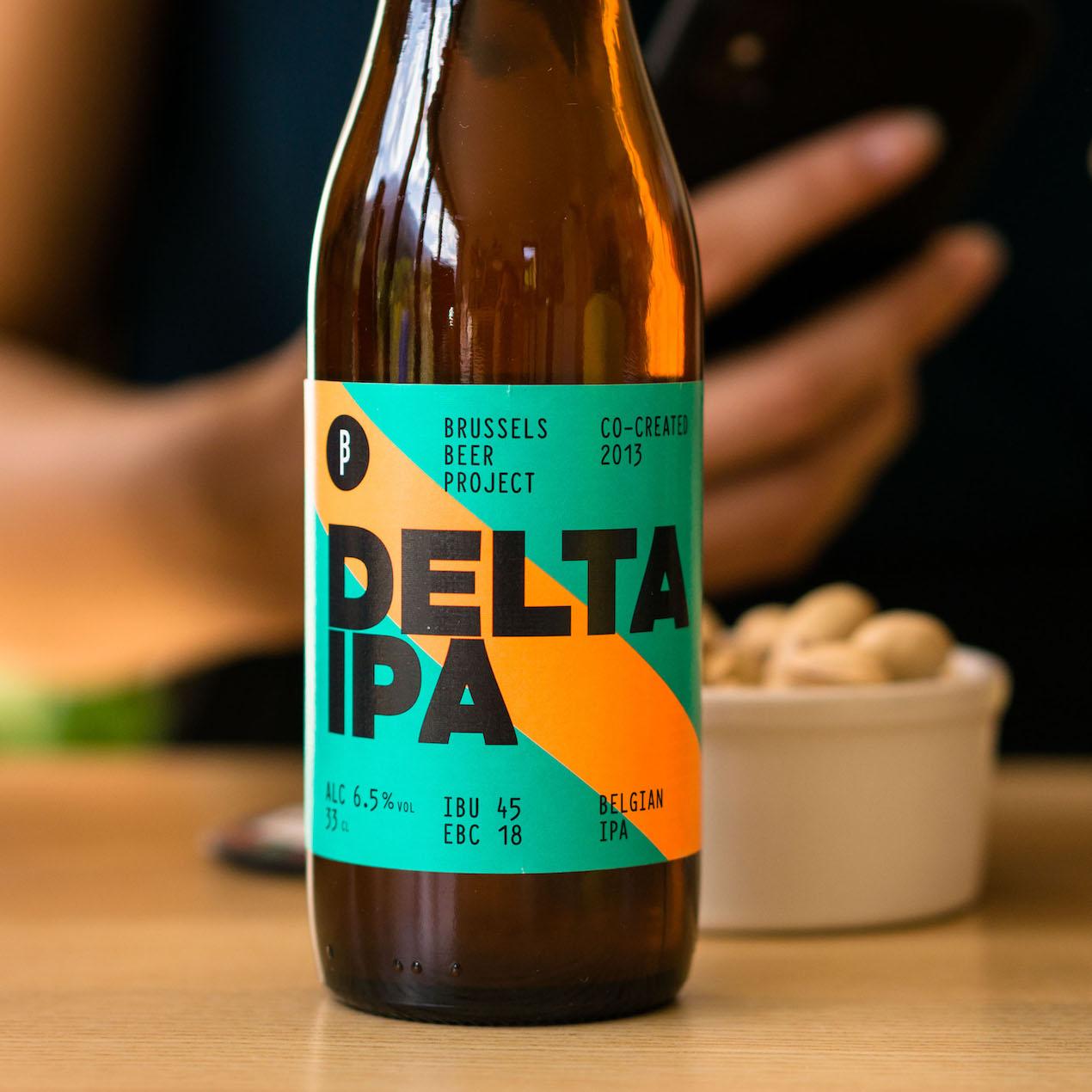 Delta IPA de Brussels Beer Project