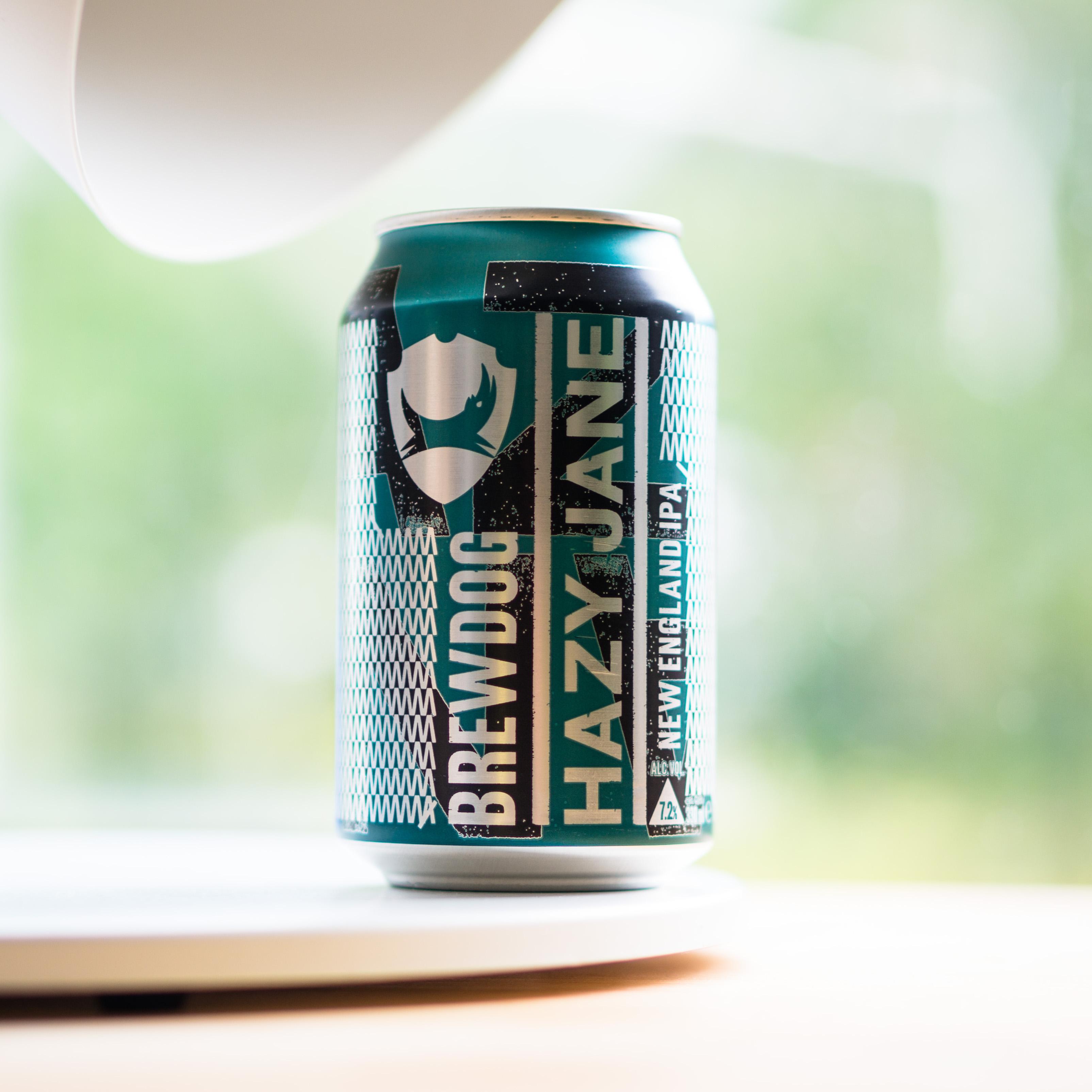 bière design en cannette