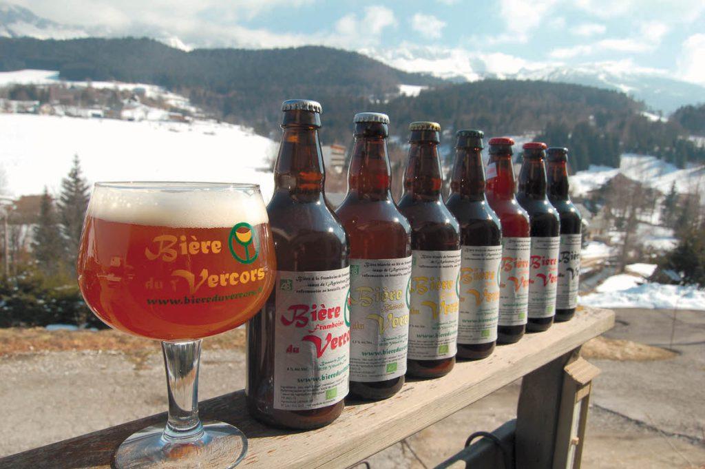 la gamme de bières du vercors