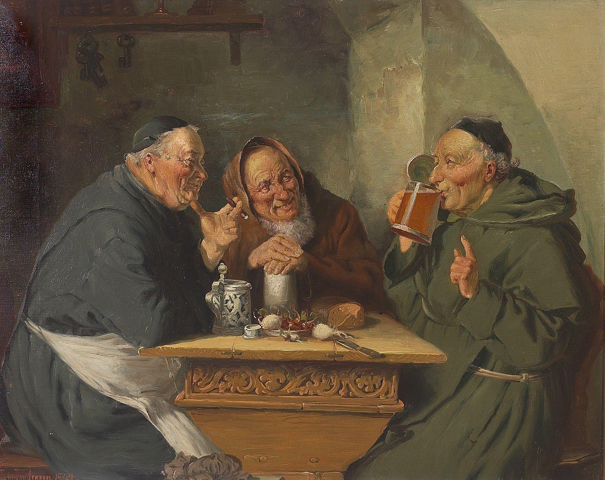 biere au moyen age