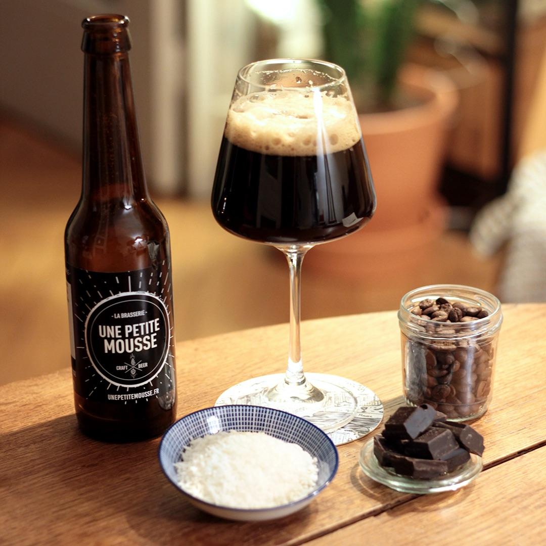 bière et chocolat stout