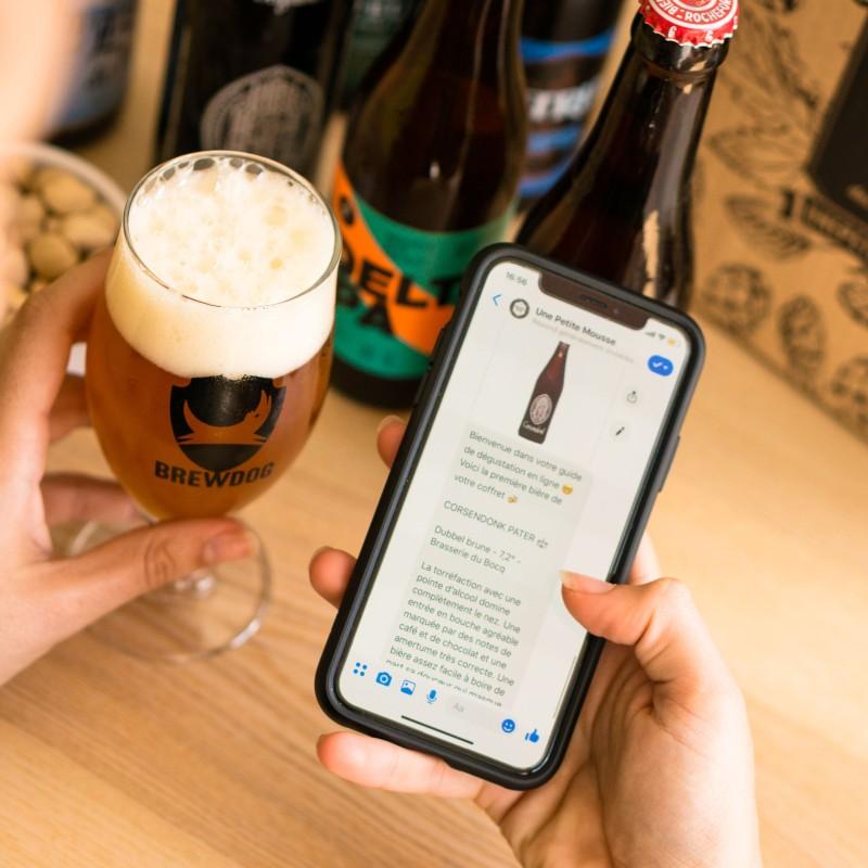 Biérologue digital qui accompagne le calendrier de bières