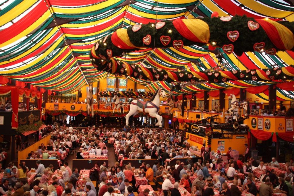 Tente de l'Oktoberfest