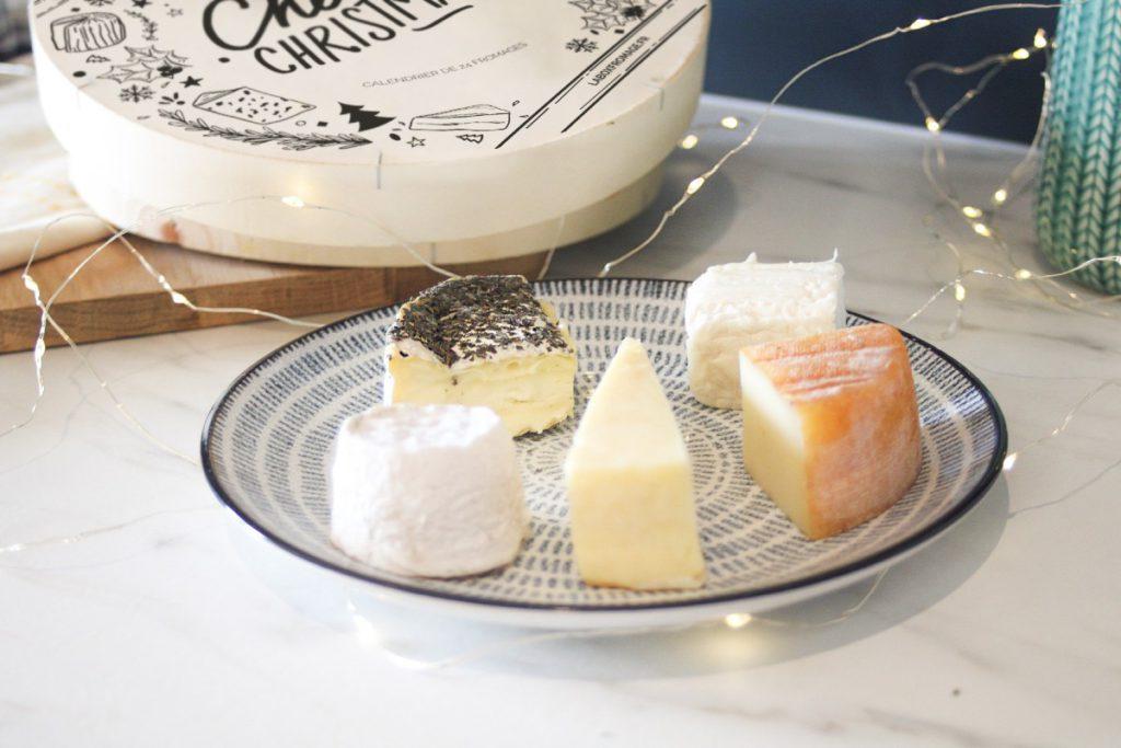 Calendrier de l'Avent pour adulte version fromage