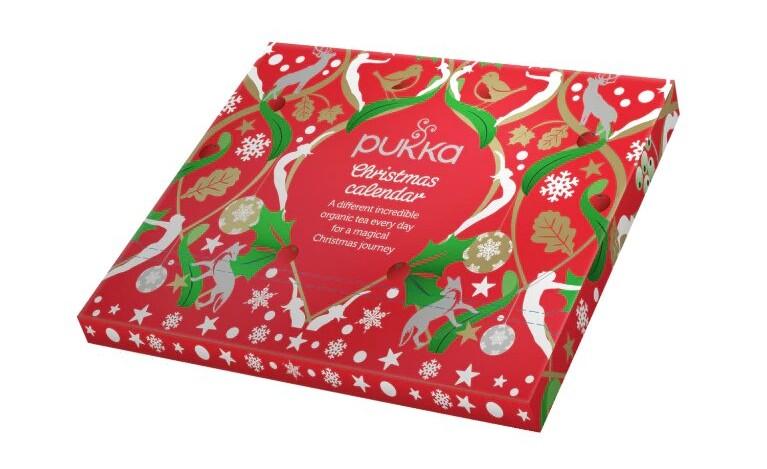 Calendrier de l'Avent thé Pukka