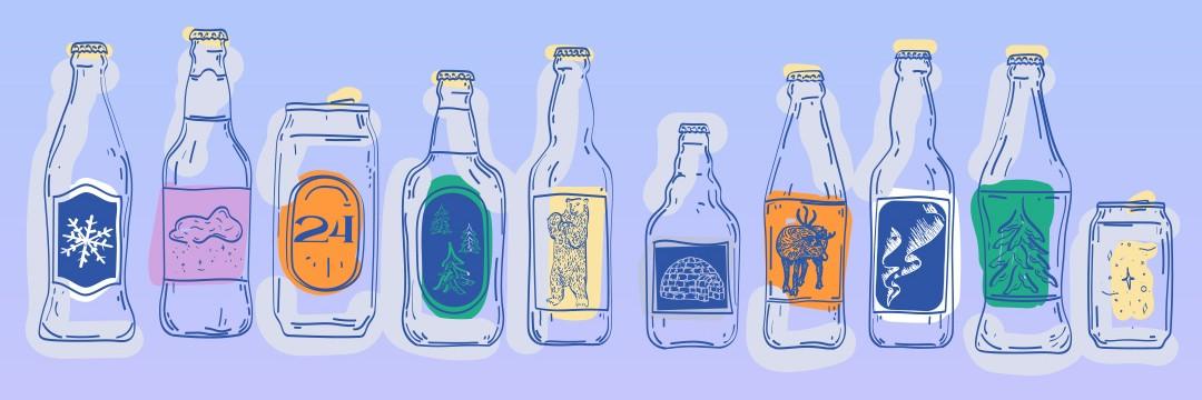Notre Calendrier de l'Avent bières du monde édition 2021 est là !